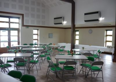 Large hall used for function